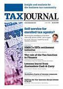 Cover of Tax Journal: Subscription