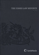 Cover of The Times Law Reports: Issues Only