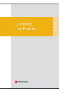 Cover of Licensing Law Reports