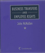 Cover of Business Transfers and Employee Rights Looseleaf