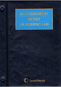Cover of Butterworths Money Laundering Law Looseleaf