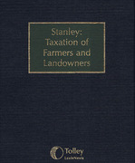 Cover of Stanley: Taxation of Farmers and Landowners Looseleaf