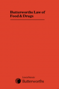 Cover of Butterworths Law of Food and Drugs Looseleaf