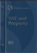 Cover of VAT and Property Looseleaf