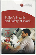 Cover of Tolley's Health and Safety at Work Looseleaf Service