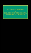 Cover of Rayden and Jackson on Relationship Breakdown, Finances and Children Looseleaf