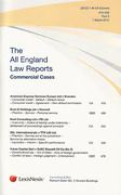 Cover of All England Law Reports: Commercial Cases - Parts and Bound Volume