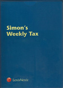 Cover of Simon's Weekly Tax Service Full Subscription: Cases and Intelligence