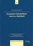 Cover of European Competition Law in a Nutshell: A Concise Guide