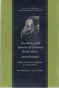 Cover of Two Books of the Elements of Universal Jurisprudence