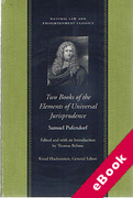 Cover of Two Books of the Elements of Universal Jurisprudence (eBook)
