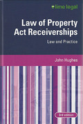 Cover of Law of Property Act Receiverships: Law and Practice