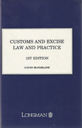Cover of Customs and Excise Law and Practice