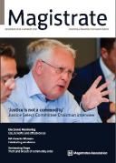 Cover of Magistrate Magazine