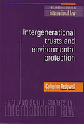 Cover of Intergenerational Trusts and Environmental Protection