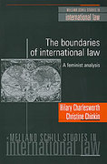 Cover of The Boundaries of International Law