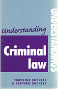 Cover of Understanding Criminal Law