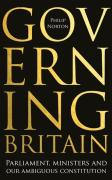 Cover of Governing Britain: Parliament, ministers and our ambiguous constitution