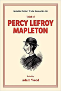 Cover of Trial of Percy Lefroy Mapleton