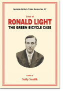 Cover of Trial of Ronald Light: The Green Bicycle Case