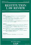 Cover of Restitution Law Review Volume 8 Part 2