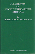 Cover of Jurisdiction of Specific International Tribunals