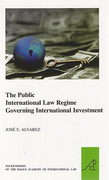Cover of The Public International Law Regime Governing International Investment