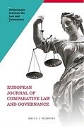 Cover of European Journal of Comparative Law and Governance: Print Only