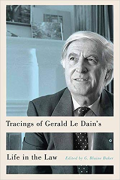 Cover of Tracings of Gerald Le Dain's Life in the Law