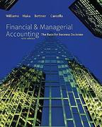 Cover of Financial & Managerial Accounting: The Basis For Business Decisions