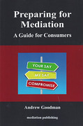 Cover of Preparing for Mediation: A Guide for Consumers