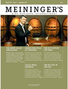 Cover of Meininger's Wine Business International
