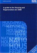Cover of Guide to the Housing and Regeneration Act 2008