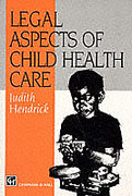Cover of Legal Aspects of Child Health Care