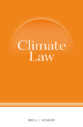 Cover of Climate Law: Print + Online