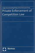 Cover of Private Enforcement of Competition Law
