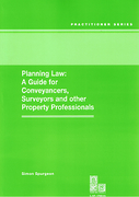 Cover of Planning Law: A Guide for Conveyancers, Surveyors and Other Property Professionals