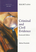 Cover of Northumbria LPC: Criminal and Civil Evidence 2013-2014