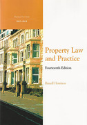 Cover of Northumbria LPC: Property Law and Practice 2013-2014