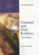 Cover of Northumbria LPC: Criminal and Civil Evidence 2014-2015