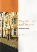 Cover of Northumbria LPC: Property Law and Practice 2014-2015