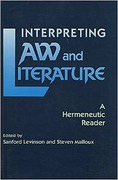 Cover of Interpreting Law and Literature