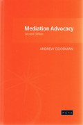 Cover of Mediation Advocacy