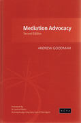 Cover of Mediation Advocacy 2nd Hong Kong Edition
