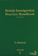 Cover of British Immigration Practice Handbook