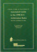 Cover of Annotated Guide to the 1998 ICC Arbitration Rules with Commentary
