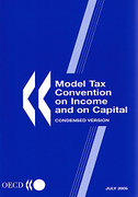Cover of OECD Model Tax Convention on Income and on Capital: Condensed Version - July 2005