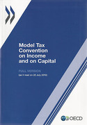 Cover of OECD Model Tax Convention on Income and on Capital: Full Version 2010