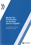 Cover of Model Tax Convention on Income and on Capital 2014: Condensed Version