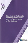 Cover of Standard for Automatic Exchange of Financial Account Information in Tax Matters